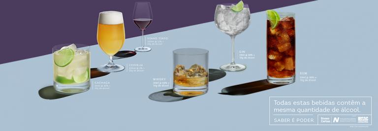 'Álcool é Álcool': Campanha Doses Certas conscientiza sobre moderação e derruba mitos sobre consumo dos destilados